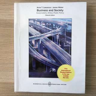 Business and Society (SMU textbook)