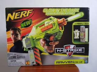 Super Rare!! Nerf N-Strike Rayven CS-18