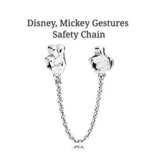 Disney, Mickey Gestures Safety Chain