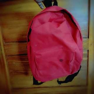 Mini backpack Pink / Brown