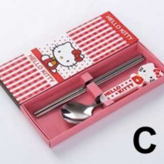 Cartoon Stainless Steel Utensils Gift Set