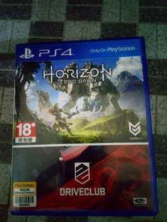 Horizon Zero Dawn & Drive Club