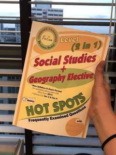 Social Studies + Geography Elective Revision Workbook