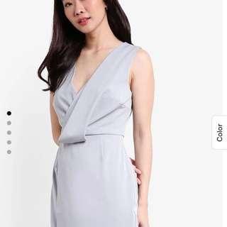 Zalora Collection Drape Detail Dress