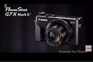 Bnib canon g7x  mark 2