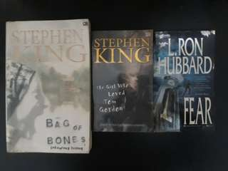 Paket Novel Stephen King (isi 3)