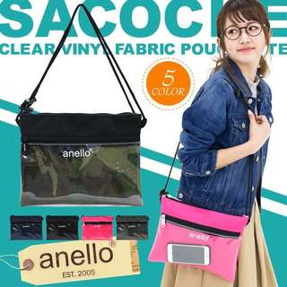 💯[AT-S0283] 2018 NEW ARRIVAL!! Anello Shoulder Messenger Bag