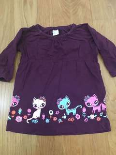 H&M Girl's dress 2-4m