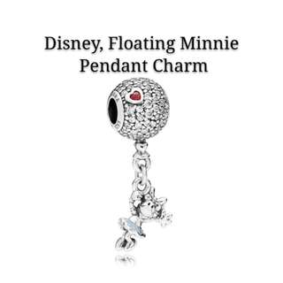 Disney, Floating Minnie Pendant Charm