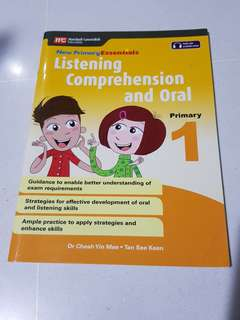 Preloved Marshall Cavendish listening comprehension and oral primary 1