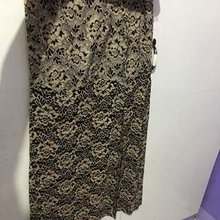 Maxi skirt - lace