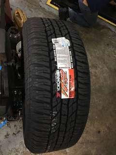 265/60/18 G015 Yokohama Tyre
