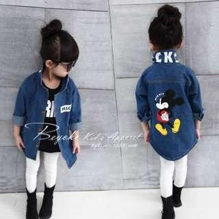 Mickey Kids Jacket Denim