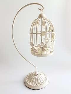 Laura Ashley Candle Bird Cage Holder