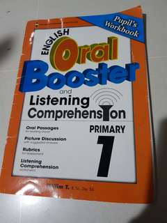 Preloved English oral booster and listening comprehension primary 1
