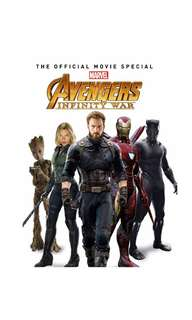 PO: Avengers: Infinity War - The Official Movie Special