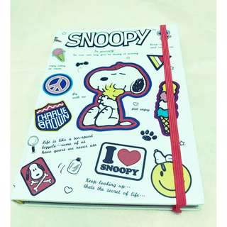 Cute Snoopy Notebook / Journal