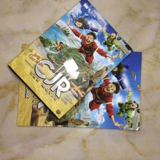 COMIC AND DVD ORIGINAL CJR THE MOVIE
