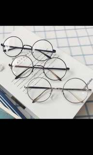 INSTOCK Uzzlang round spectacles/glasses