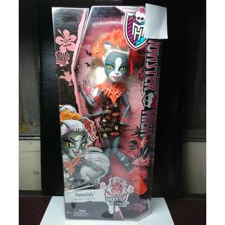 MONSTER HIGH Ghouls' Getaway Meowlody Doll