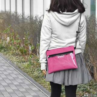 💯 [AT-S0283] 2018 NEW ARRIVAL!! ANELLO SHOULDER MESSENGER SLING BAG - PINK