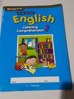 Preloved English listening comprehension primary 1