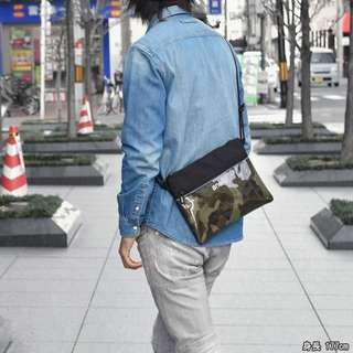 💯 [AT-S0283] 2018 NEW ARRIVAL! ANELLO SHOULDER MESSENGER SLING BAG-CAMO