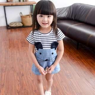 👧🏻(PO) Rodent Dress for Baby Toddler Girl