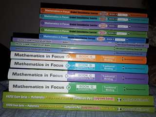 數學書 mathematics in focus