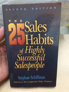 25 sales habit of highly successful salespeople