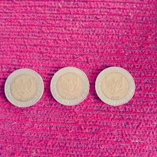 Uang 1000 kelapa sawit th 1996