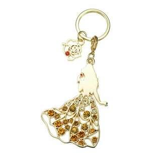日本Disney x Abiste Princess Belle Keyholder 貝兒 鎖匙扣