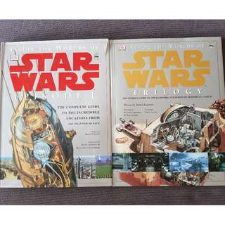 Inside The Worlds of Star Wars: Episode 1 and Trilogy Hardcovers