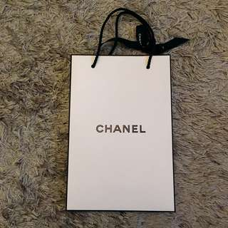CHANEL paper bag [S size]