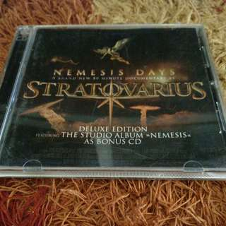 STRATOVARIUS CD DVD