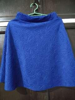 Blue Floral Sunday Skirt