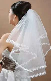 In stock Bridal Veil