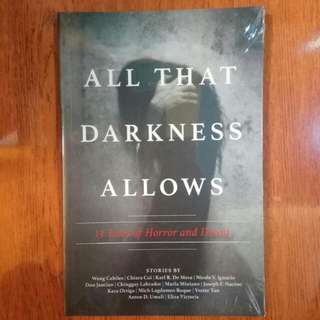 English Books - All that Darkness Allows