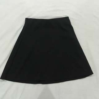 Cotton On: black skater skirt
