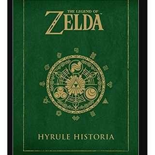 The Legend of Zelda : Hyrule Historia by Shigeru Miyamoto, Eiji Aonuma and Akira Himekawa - BK2002