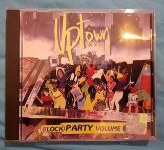CD. VA Uptown Records.Block Party Vol.1. R&b Rap