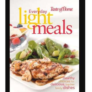 Everyday Light Meals, Taste of Home - RD1010