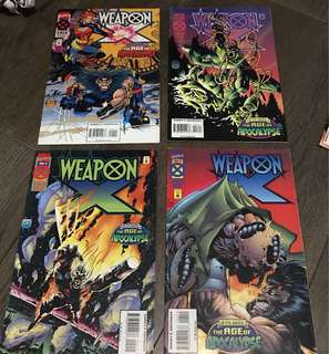 Marvel Age of Apocalypse - Weapon X 1-4 (Complete)