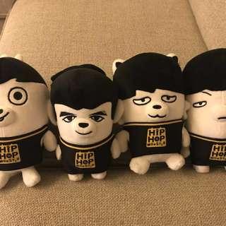 防彈少年團丑娃系列 - Jungkook, V, Jimin, Suga (全套或單個出售),單個價錢另議