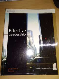 Effective Leadership Textbook Cengage Learning