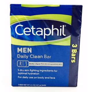 CETAPHIL MEN Daily Clean Bar 3's