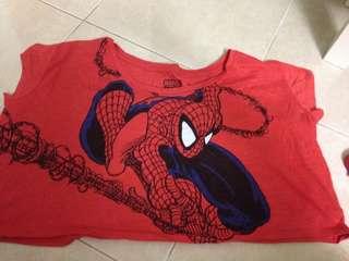Spiderman half ter