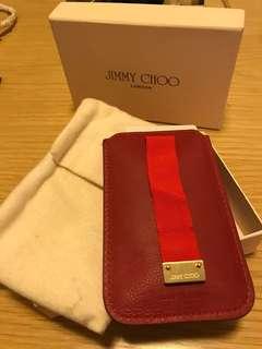 Jimmy Choo leather phone case 電話套