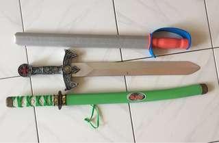 3pcs toy sword