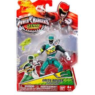 Power Rangers Dino Charge Green